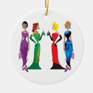 Ladies' Night Ornament