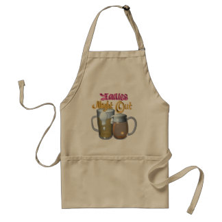 Ladies Night Out by Valxart.com Adult Apron