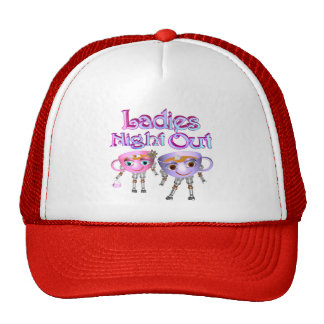 Ladies Night Out by Valxart.com Hats