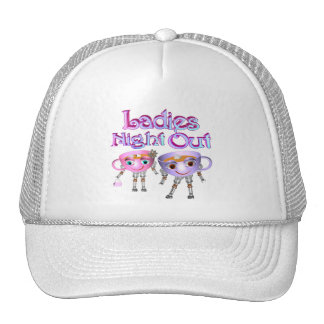 Ladies Night Out by Valxart.com Mesh Hats
