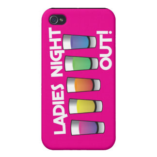 LADIES night out cards Case For iPhone 4