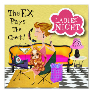 Ladies Night Out - SRF Card