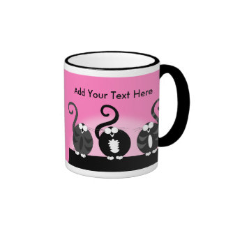 Ladies Night Out to Howl Coffee Mugs
