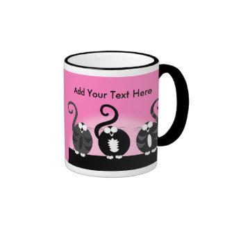 Ladies Night Out to Howl Ringer Mug