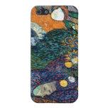 Ladies of Arles, Garden at Etten, Vincent Van Gogh Case For iPhone 5/5S