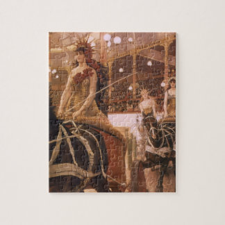 Ladies of the Cars (Circus) by Tissot, Vintage Art Jigsaw Puzzle