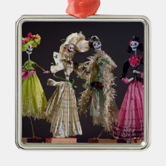 Ladies of the Day of the Dead, from Oaxaca Christmas Ornament