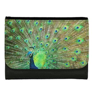 Ladies Peacock Designer Wallet