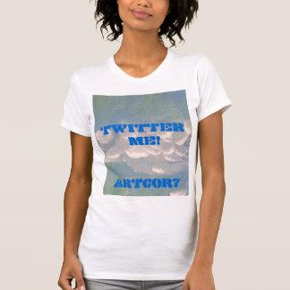 LADIES PERF. MIC. FIB SLEEVL -  TWITTER ME! T-Shirt
