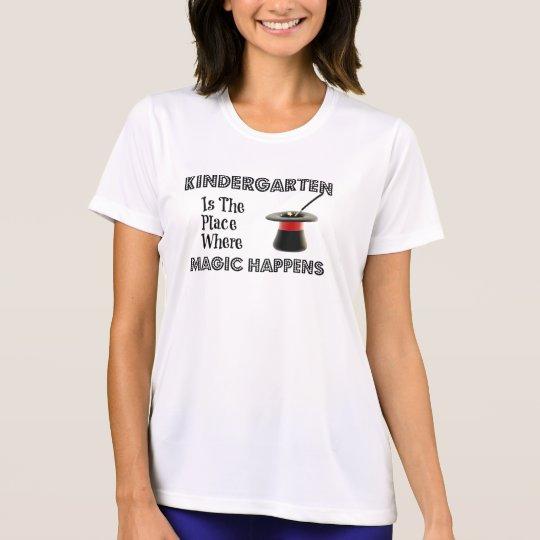 Ladies Performance Micro-Fibre t-shirt KinderMagic
