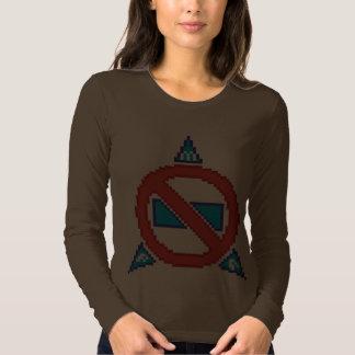 Ladies PMA 8 bit Long Sleeve Tshirt