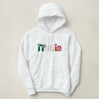 Ladies pullover soccer Italia Calcio hoody