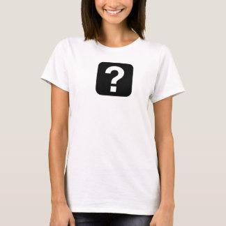Ladies Question Mark T-Shirt