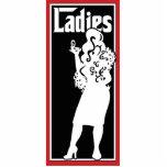 Ladies Restroom/Bathroom sign Photo Sculpture Decoration