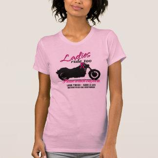 Ladies Ride Too - Motorcycle Awareness 2013 T Shirts