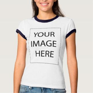 Ladies Ringer T-Shirt: Navy Tshirts