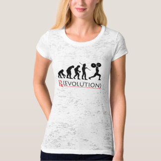 Ladies RX Evolution Chart Fitness T-shirt
