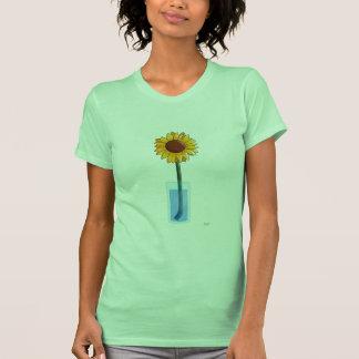Ladies Sunflower Tee: Lime