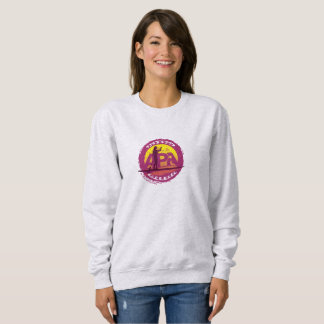 Ladies Sweatshirt stamp pink
