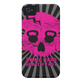 Ladies Swing Hard Snatch Fast Kettlebell Iphone 4 iPhone 4 Covers