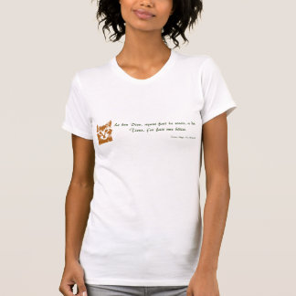Ladies t-shirt: Le Chat T-Shirt
