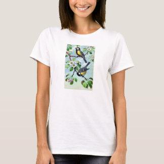 Ladies' T-Shirt - Ornithology - Great Tits