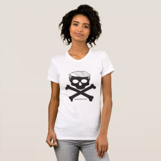 Ladies T- white with black logo T-Shirt