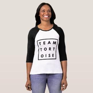 Ladies Team Tortoise Raglan Sleeve T-Shirt