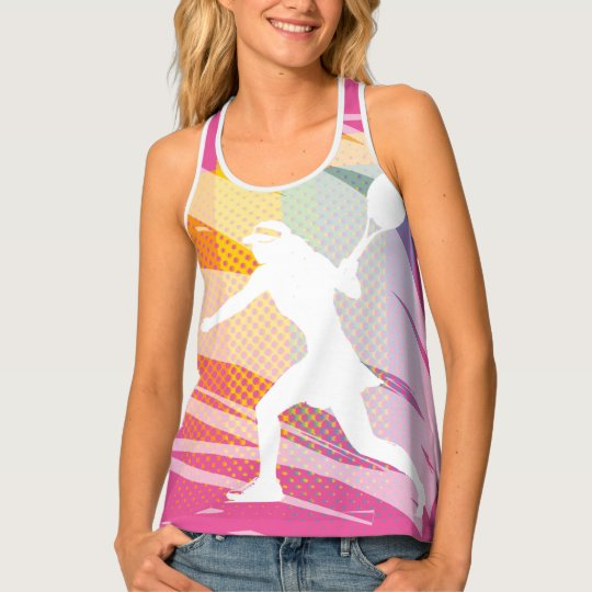 Ladies tennis tank top for women and girls