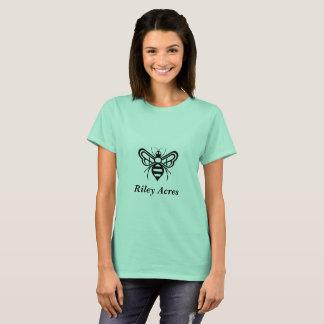 Ladies TShirt w/ the original Riley Acres Bee Logo