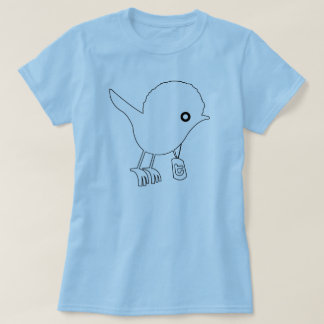 Ladies Twigga Bird Baby Doll (Fitted) T-Shirt