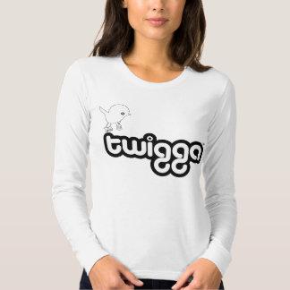 Ladies Twigga Long Sleeve (Fitted) Tees