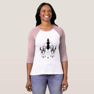 Ladies vintage tshirt with Chandelier