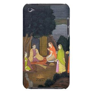 Ladies visiting a Yogini, School of Faqurullah Kha Barely There iPod Covers