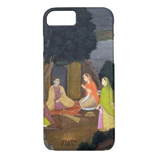 Ladies visiting a Yogini, School of Faqurullah Kha iPhone 8/7 Case