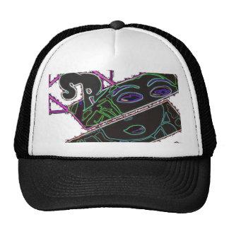 Ladies Wear Mesh Hats