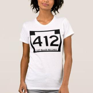 Ladies White Just Blaze Recordz 412 Camisole Tshirts