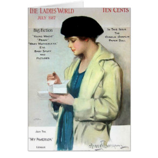 Ladies World , July 1917 Card