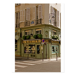 Ladurée Patisserie ~ French Pastries ~ Rue Jacob Postcard