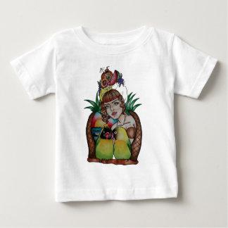 lady1.jpg baby T-Shirt
