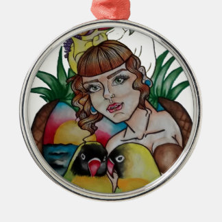 lady1.jpg christmas ornament