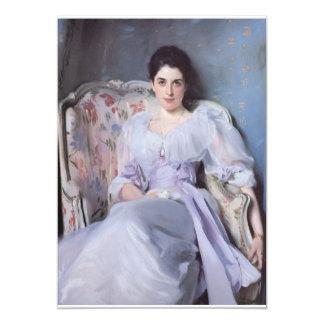 Lady Agnew fine art 13 Cm X 18 Cm Invitation Card
