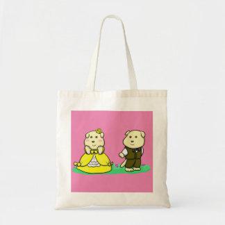 Lady and Gentleman Budget Tote Bag