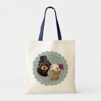 """""""Lady and Gentleman"""" ferrets Tote Bag"""