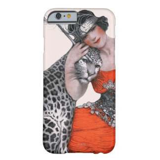 Lady and Leopard Barely There iPhone 6 Case