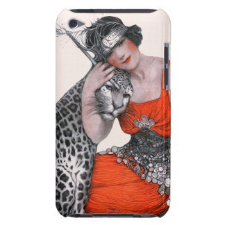 Lady and Leopard Barely There iPod Cover