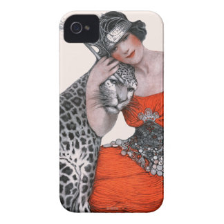 Lady and Leopard Case-Mate iPhone 4 Case