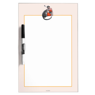 Lady and Leopard Dry Erase Board
