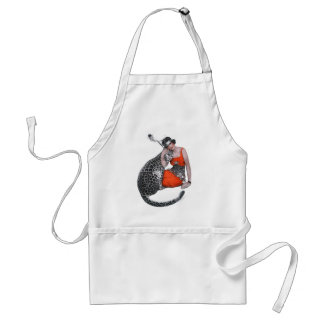 Lady and Leopard Standard Apron