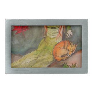 Lady and The Fox Belt Buckles